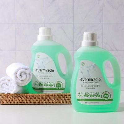 에버미라클 EM 비건 항균세탁세제3L