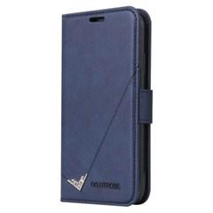 아이폰8플러스 포인트라인 카드수납 가죽 케이스 P587_(3816520)