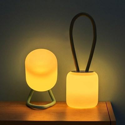 유즈비 실리콘 컵볼 LED 무드등 랜턴 ULL-101