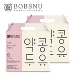 밥스누 달콤한 프리바이오틱스 약콩두유 190ml x 20팩 2박스