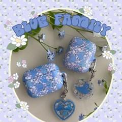 [뮤즈무드] Blue Family airpods case (하드에어팟케이스)