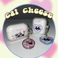 [뮤즈무드] cat cheese airpods case (젤리에어팟케이스)