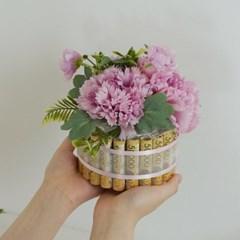 돈케이크 현금 용돈케이크 1단 완제품 [용돈 돈 케이크 케익 이벤트]