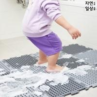 양면사용가능 욕실 미끄럼방지매트 2WAY 퍼즐 발매트