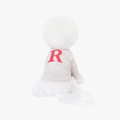 'R' 맨투맨 오트밀 ('R' MTM CORN OATMEAL)