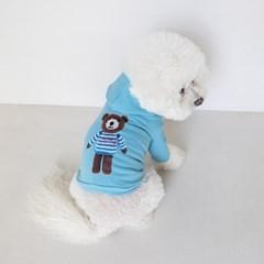 Cote Bear Hoodie(Vintage Blue)