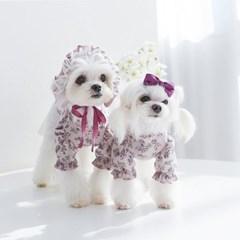 퍼플러블리 보닛 강아지모자 마벨피피 가을 겨울