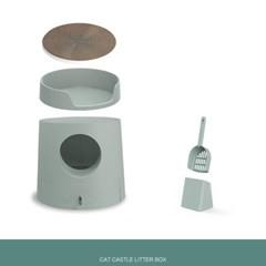 손담비 고양이 화장실 캣똥 냄새 즐똥 묘래박스 로마샌
