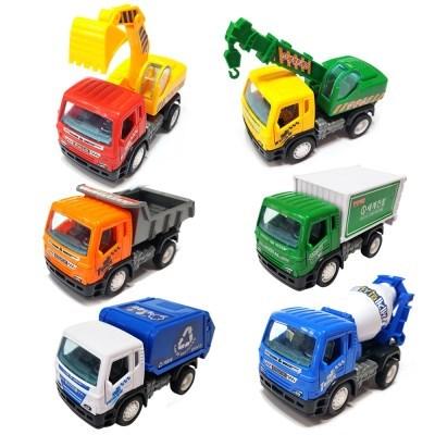 세계건설차 3P 포크레인 믹서 트럭 크레인