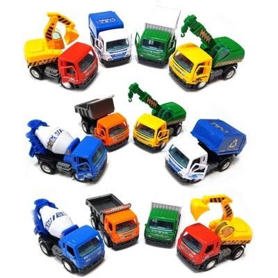 세계건설차 4P 포크레인 믹서 트럭 크레인