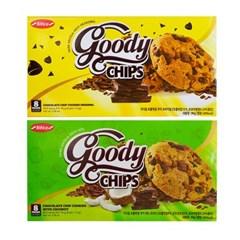 구디칩 초콜릿칩 쿠키 96g 2종 1택