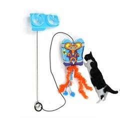 흡착식 스왓앤스윙 캣닢 고양이장난감 낚시대 쥐