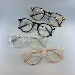 호피 투명 심플 도수없는 가벼운 데일리 패션 안경