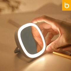 유즈비 LED 조명 휴대용 미니손거울
