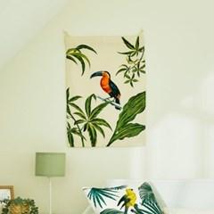 [모던하우스] 그라피크 빈티지 와일드 정글 패브릭포스
