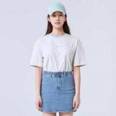 [에코] 스트라이프 반팔 티셔츠 SPRSA24G24