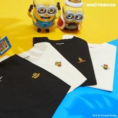 (미니언즈) HOLA! 썸머 미니언즈 티셔츠 SPRLA26C05