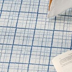 패턴 시어서커 여름 러그 카페트_(1026168)