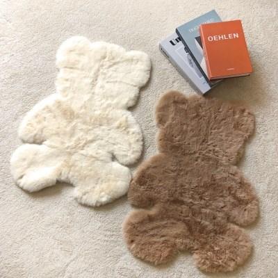 철푸덕 곰돌이 러그 2종