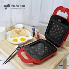 키친아트 렉스 와플 샌드위치 메이커 레드 KP-930