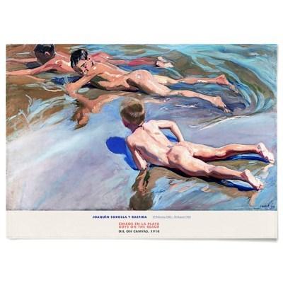 패브릭 포스터 바다 명화 그림 천 액자 호아킨 소로야 16