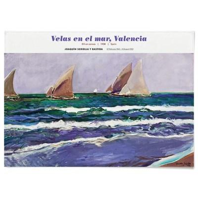 패브릭 포스터 풍경 바다 그림 액자 호아킨 소로야 14