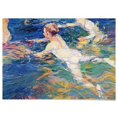 패브릭 포스터 바다 소년 수영 명화 그림 액자 호아킨 소로야 8