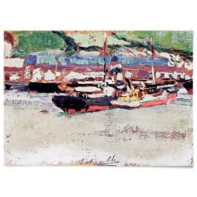 패브릭 포스터 풍경 바다 배 보트 그림 액자 호아킨 소로야 5