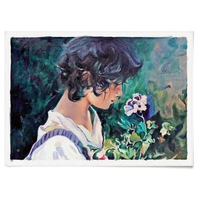 패브릭 포스터 명화 인물 꽃 그림 액자 호아킨 소로야 2