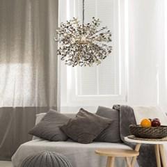 로망 6등 LED 수입 골드 주방 식탁등