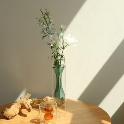LAZYTHING bubbleglass vase_green_(412880)