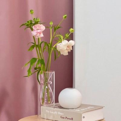LAZYTHING bubbleglass vase_pink_(412879)