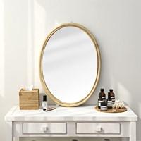 라탄 타원형 거울 No4 70cm대형_(1295880)