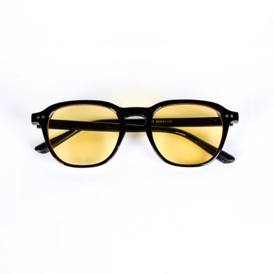 Wooran Black / Yellow Tint Lens