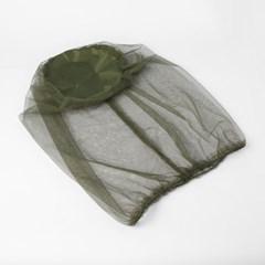 글로잉 얼굴 모기장(그린)/머리모기장 해충캡 헤드넷