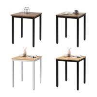 빈티지 카페 커피숍 사각 티테이블 2인용 거실 나무 식탁 탁자