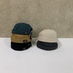 기본 무지 벨트 베이지 꾸안꾸 패션 와치캡 비니 모자
