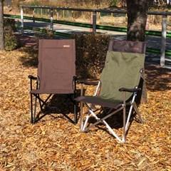 지오프리 1+1 프리미엄 롱 릴렉스 체어 GF316001S 캠핑의자