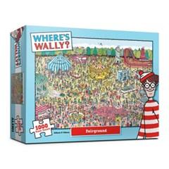 (알록퍼즐)1000피스 월리를 찾아라 놀이공원 직소퍼즐 A_(1681466)