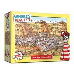 (알록퍼즐)1000피스 월리를 찾아라 아즈텍에서의 마지막_(1681465)