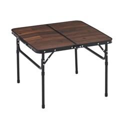 로고스 블랙 우드 접이식 캠핑 테이블 600 73188035