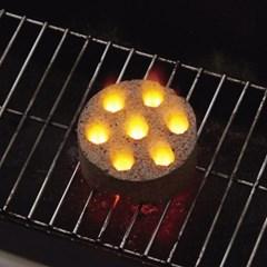 코코넛 숯 바베큐 차콜 4 (미니) 83100104 BBQ 활성탄 야자숯