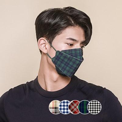 국내제조 애트머스케어 패션 마스크 시그니처 라인 5매
