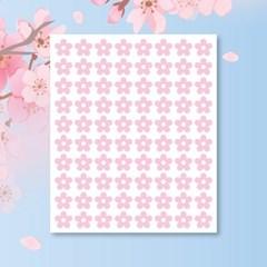 캐찹 홈스티커 20벚꽃 핑크 데코스티커