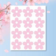 캐찹 홈스티커 60벚꽃 핑크 데코스티커