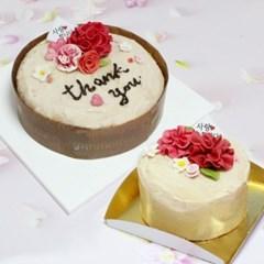 카네이션 케이크 만들기 세트 케잌 DIY 키트 쌀이랑놀자