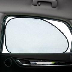 흡착 자동차차광막 2p / UV차단 차량햇빛가리개