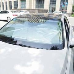 우산형 앞유리 차량용 햇빛가리개(145x79cm)