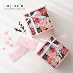코코도르 카네이션 용돈 박스 + 쇼핑백  X 2개 세트