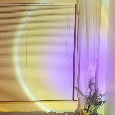 프로젝터 써클 조명 홈바 선셋 무드등 (4 colors)